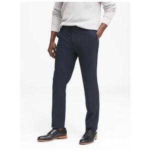 NEW Banana Republic Slim Solid Italian Wool Suit P